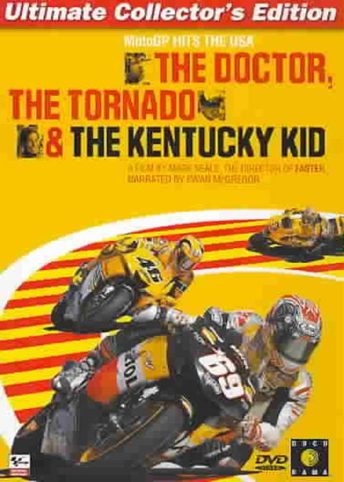THE DOCTOR, THE TORNADO & THE KENTUCKY KID NEW DVD