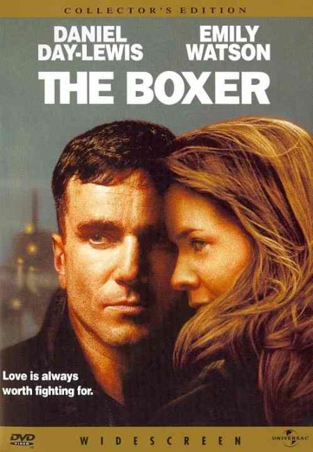 The Boxer DVD Cover Art