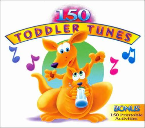 VARIOUS-ARTISTS-150-TODDLER-TUNES-NEW-CD