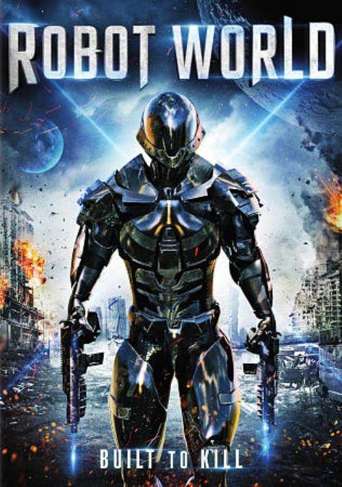 ROBOT WORLD NEW DVD