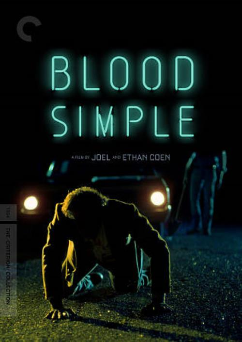 BLOOD SIMPLE NEW DVD
