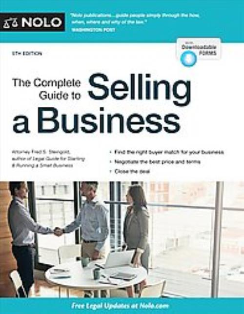 Details about THE COMPLETE GUIDE TO SELLING A BUSINESS - STEINGOLD, FRED S   - NEW PAPERBACK BO
