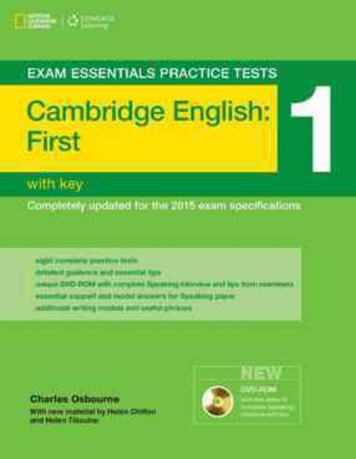 cambridge english first  CAMBRIDGE ENGLISH FIRST FCE EXAM ESSENTIAL PRACTICE TESTS 1 ...