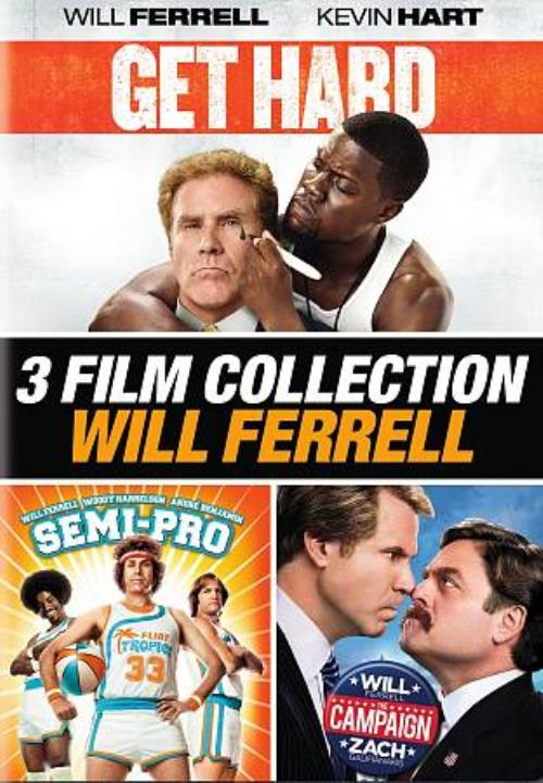3 film collection will ferrell get hard semi pro the campaign new