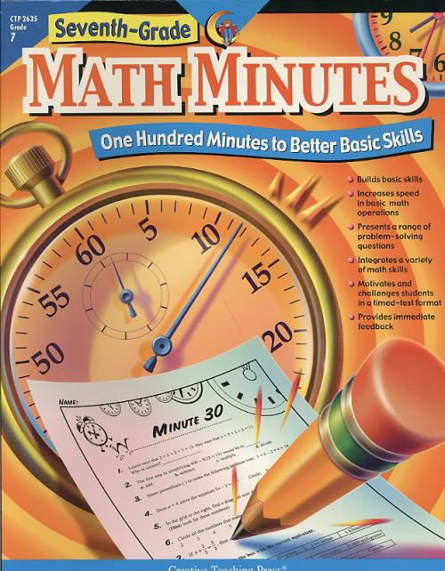 Details about SEVENTH-GRADE MATH MINUTES - STOFFEL, DOUG - NEW PAPERBACK  BOOK