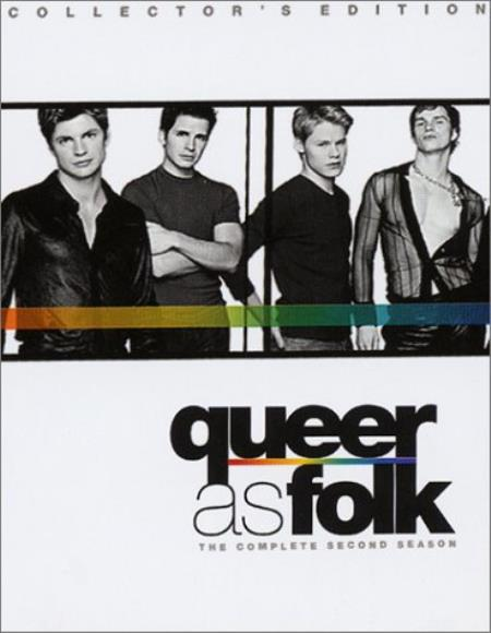 Queer as Folk - The Complete Second Season DVD Boxset Cover Art