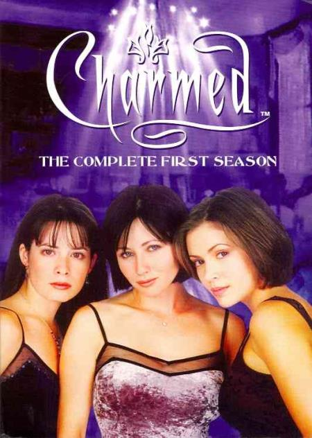 Charmed - The Complete First Season DVD Boxset Cover Art