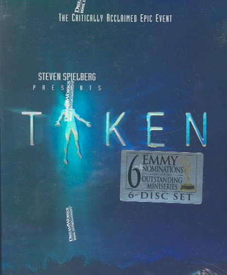 Taken DVD Boxset Cover Art