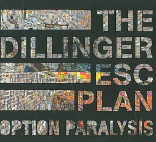 THE DILLINGER ESCAPE PLAN - OPTION PARALYSIS USED - VERY GOOD CD