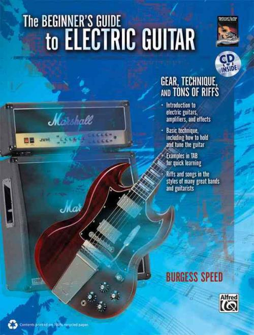 the beginner 39 s guide to electric guitar speed burgess new paperback book 9780739065402 ebay. Black Bedroom Furniture Sets. Home Design Ideas