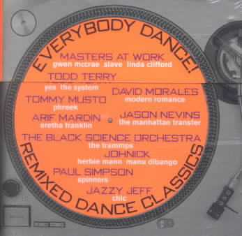 Various Artists - Everybody Dance: Remixed Dance Classics New Cd