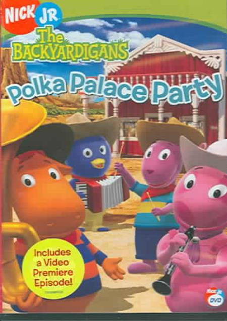 The Backyardigans - Polka Palace Party DVD Cover Art