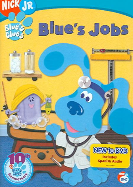 Blue's Clues - Blue's Jobs DVD Cover Art