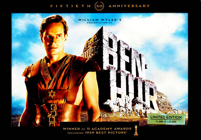BEN-HUR NEW REGION 1 DVD