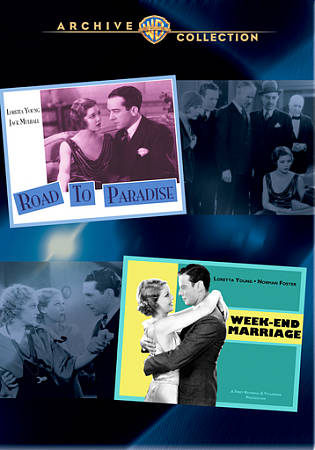 ROAD TO PARADISE/WEEK-END MARRIAGE NEW REGION 0 DVD
