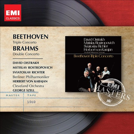BEETHOVEN: TRIPLE CONCERTO; BRAHMS: DOUBLE CONCERTO NEW CD