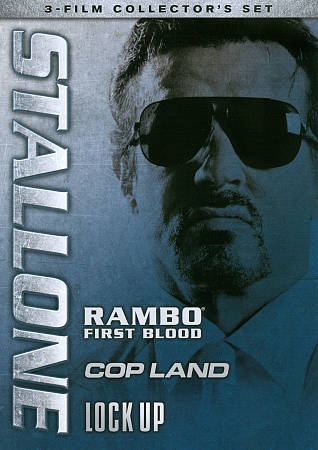 STALLONE: RAMBO - FIRST BLOOD/COP LAND/LOCK UP NEW REGION 1 DVD