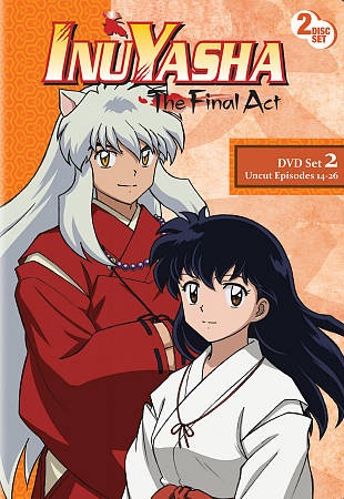 INU YASHA: THE FINAL ACT - SET 2 NEW REGION 1 DVD