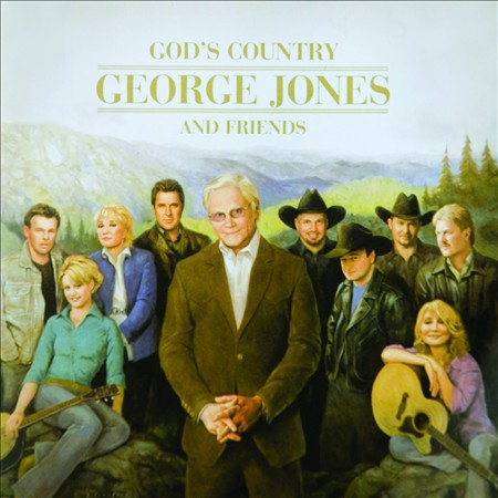 VARIOUS ARTISTS - GOD'S COUNTRY: GEORGE JONES AND FRIENDS NEW CD