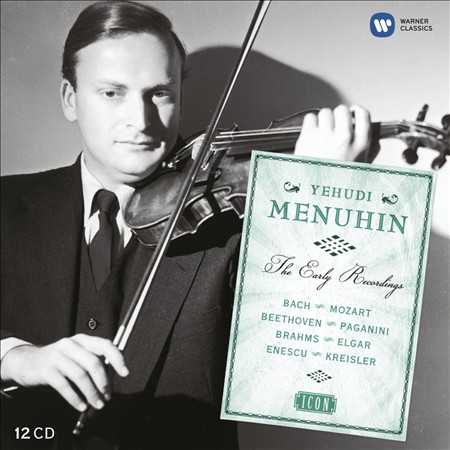 ICON: THE EARLY YEARS - YEHUDI MENUHIN NEW CD