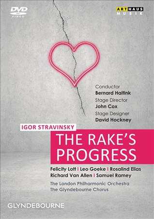 THE RAKE'S PROGRESS NEW REGION 0 DVD