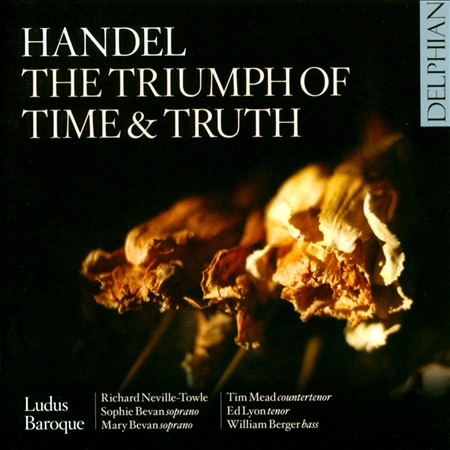 HANDEL: THE TRIUMPH OF TIME & TRUTH NEW CD