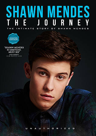SHAWN MENDES: THE JOURNEY - UNAUTHORIZED NEW REGION 1 DVD