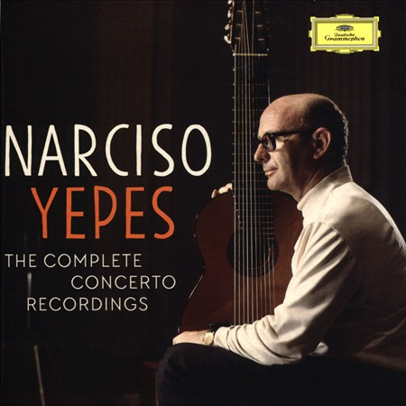 NARCISO YEPES: THE COMPLETE CONCERTO RECORDINGS NEW CD