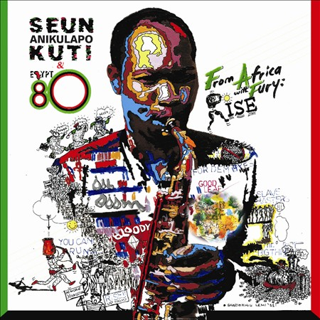 SEUN KUTI & EGYPT 80 - FROM AFRICA WITH FURY: RISE NEW CD