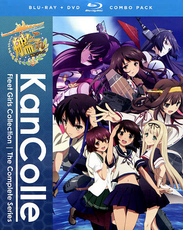 KANCOLLE: KANTAI COLLECTION - THE COMPLETE SERIES NEW REGION 1 BLU-RAY DISC