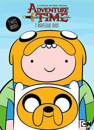 ADVENTURE TIME: 2 RIGHTEOUS DVDS NEW DVD