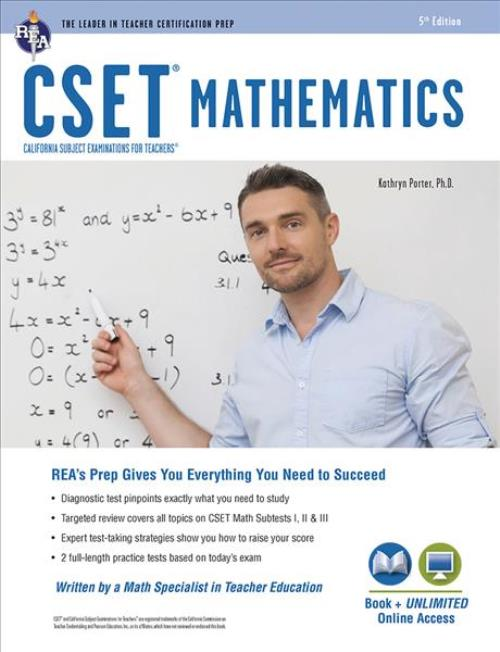 Cset Teacher Certification Test Prep Cset Mathematics Book Online