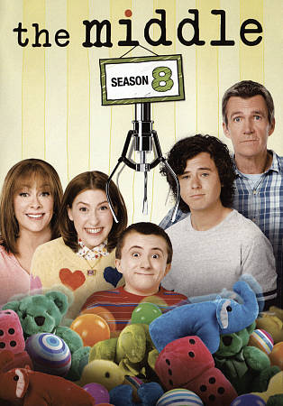 THE MIDDLE: THE COMPLETE EIGHTH SEASON [2017] NEW DVD