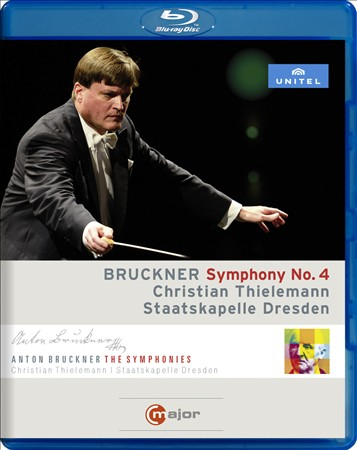 BRUCKNER - SYMPHONY #4 - THIELEMANN, DRESDEN STATE ORCHESTRA NEW BLU-RAY DISC