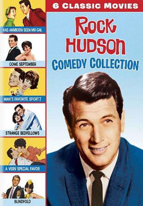 Rock Hudson Comedy Collection 6 Classic Movies Dvd 2018 For Sale