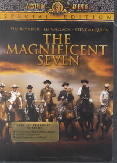 THE MAGNIFICENT SEVEN NEW REGION 1 DVD