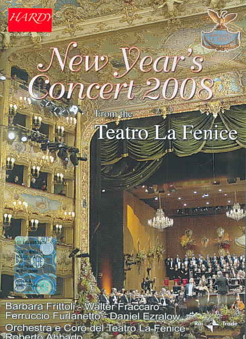 NEW YEAR'S CONCERT 2008 NEW DVD