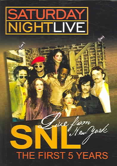 SNL - THE FIRST 5 YEARS NEW REGION 1 DVD