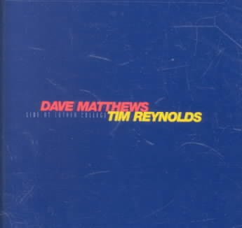 DAVE MATTHEWS - LIVE AT LUTHER COLLEGE NEW CD