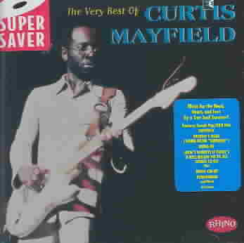 CURTIS MAYFIELD - THE VERY BEST OF CURTIS MAYFIELD [RHINO] NEW CD