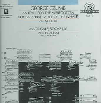 WORKS BY GEORGE CRUMB NEW CD
