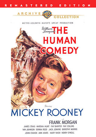 THE HUMAN COMEDY NEW REGION 1 DVD