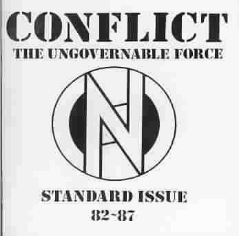 CONFLICT - STANDARD ISSUE 82-87 [PA] NEW CD